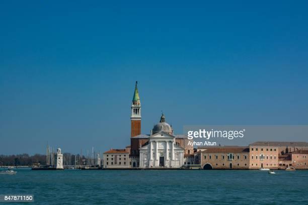 Church Of San Giorgio Maggiore By Grand Canal in Venice,Veneto,Italy