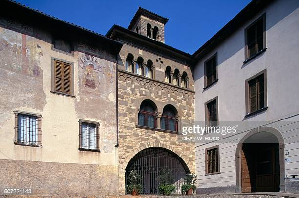 Church of San Michele al Pozzo Bianco Citta Alta Bergamo Lombardy Italy