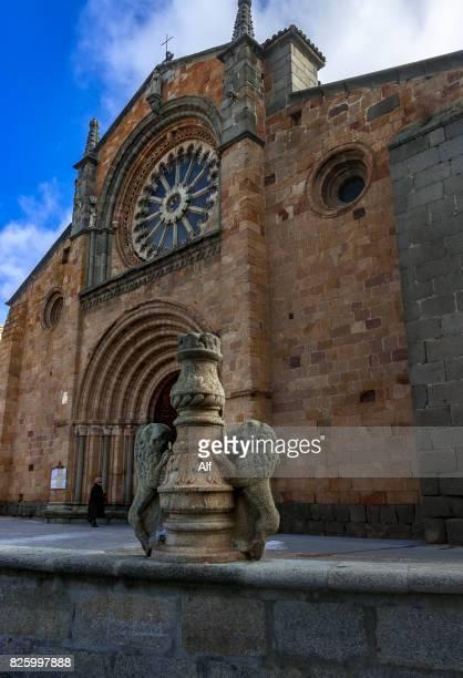 Church of San Pedro in Avila, Spain