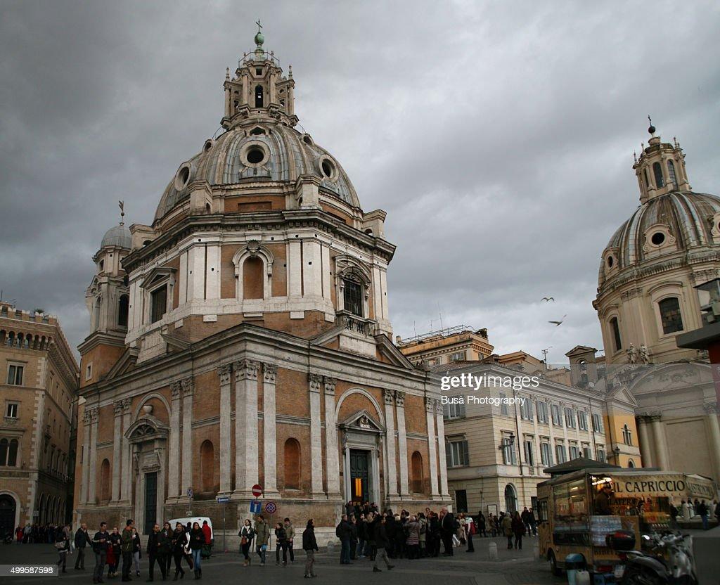 Church of Santa Maria di Loreto, in Rome, Italy