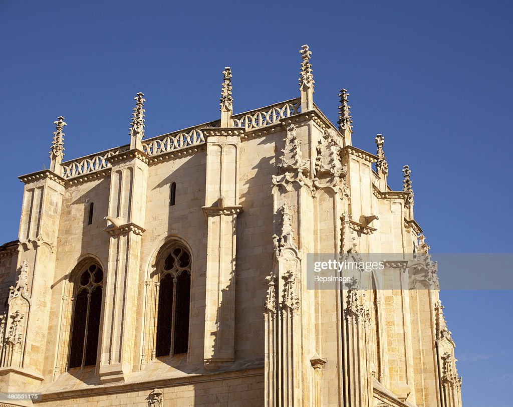 Iglesia de St. Isidore, Leon : Foto de stock