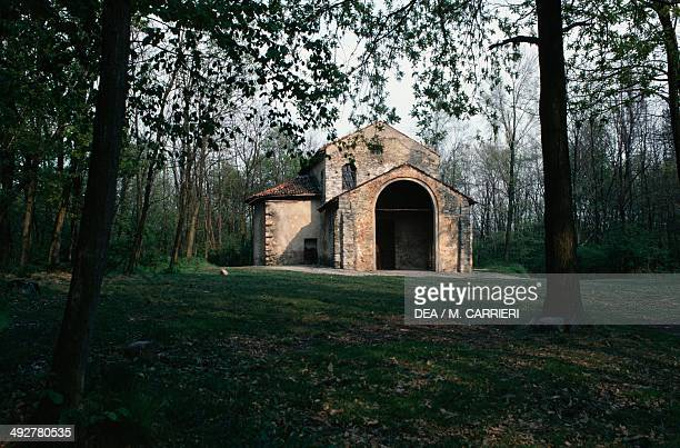 Church of St Mary Foris Portas 9th century Castelseprio Lombardy Italy