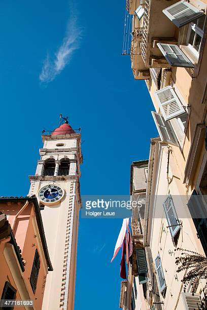 Church of St. Spyridon bell tower in Old Town