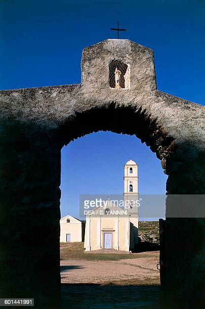 Church of the Annunciation and the Brotherhood chapel Sant'Antonino Corsica France