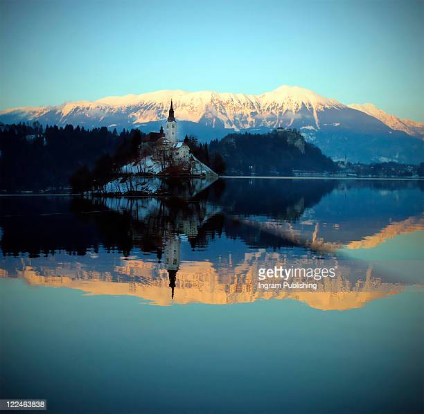 Church of the Assumption, Lake Bled, Slovenia.