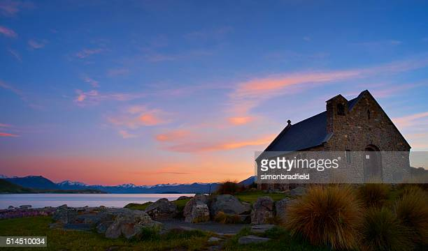Church Of The Good Shepherd, Lake Tekapo, At Dawn