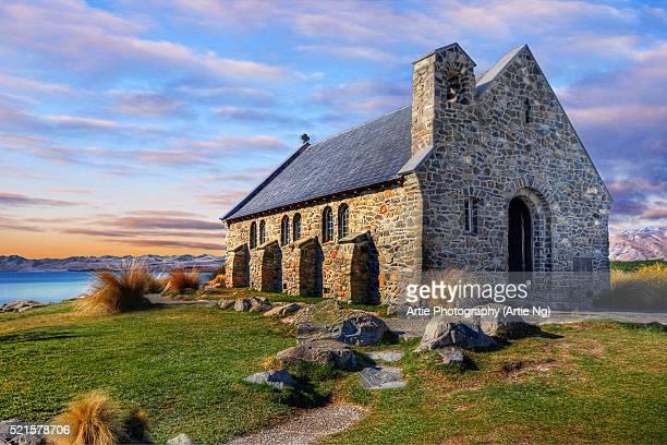 Church of the Good Shepherd, Lake Tekapo, Mackenzie District, Canterbury Region, South Island, New Zealand