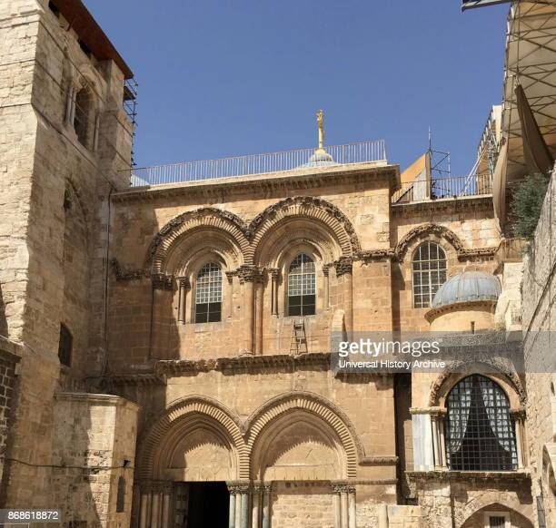 Church of the Holy Sepulchre Jerusalem For Orthodox Christians this church in the Christian Quarter of the Old City of Jerusalem contains according...