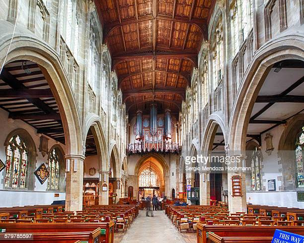 Church of the Holy Trinity in Stratford, inside