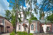 Church of the intercession in Pokrovskoe Streshnevo village. Volokolamskoe highway, 52. Moscow