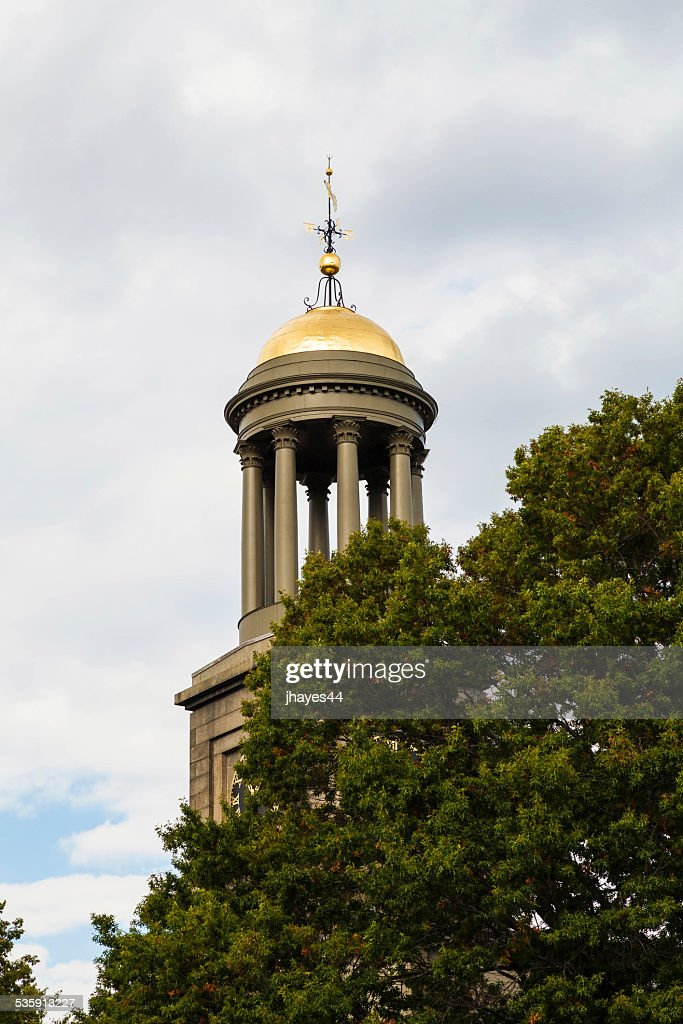 Church of the Presidents Steeple : Stock Photo
