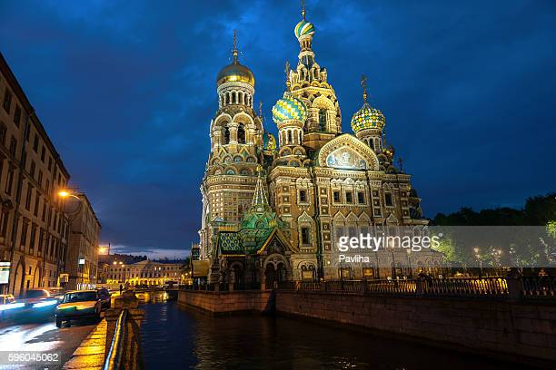 Church of the Savior on Spilled Blood, St Petersburg, Russia.