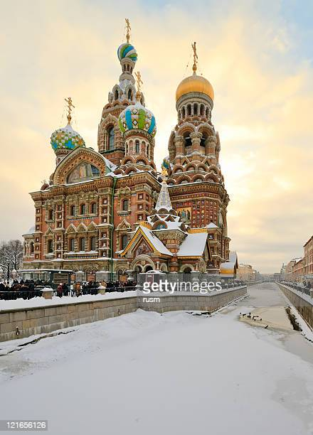 Church on Spilled Blood, St. Petersburg, Russia