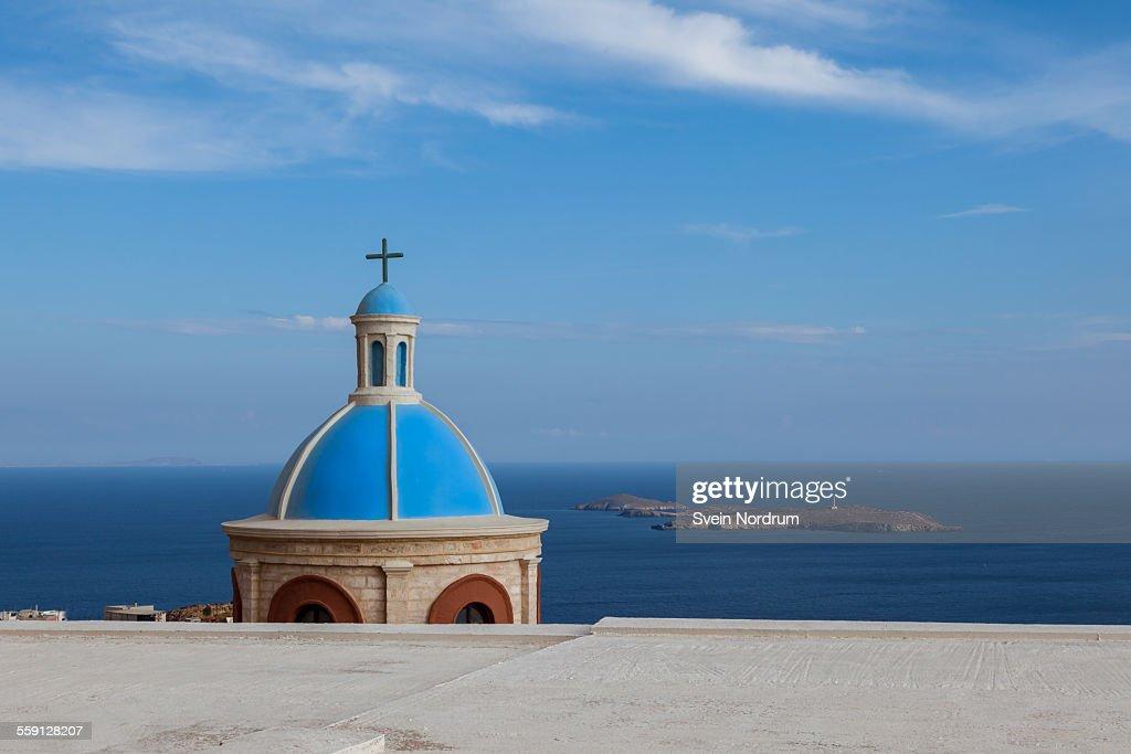 Church on Syros Island