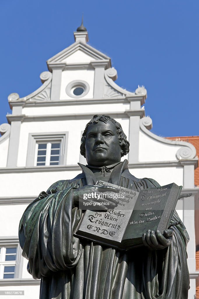 Church Reformer Martin Luther : Stock Photo