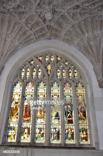 Church Window : Stock Photo