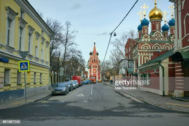 Churches in the traditional Russian style in Moscow