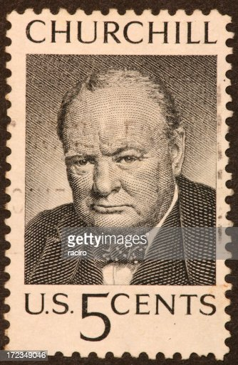 Churchill postage stamp