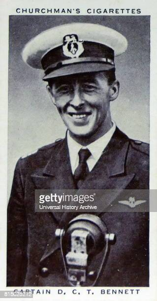Churchman Kings of Speed Series cigarette card depicting Air Vice Marshal Don Bennett was an Australian aviation pioneer and bomber pilot who rose to...