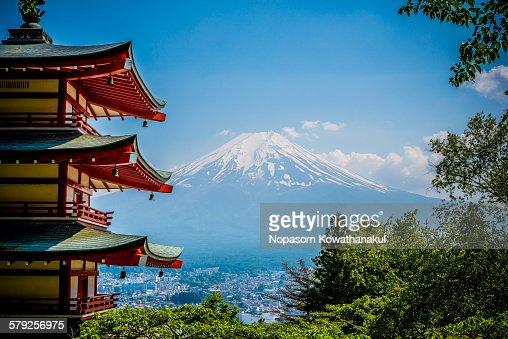 Chureto with Mt. Fuji
