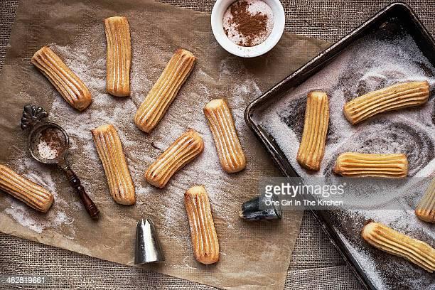 Churros with Cinnamon and Sugar