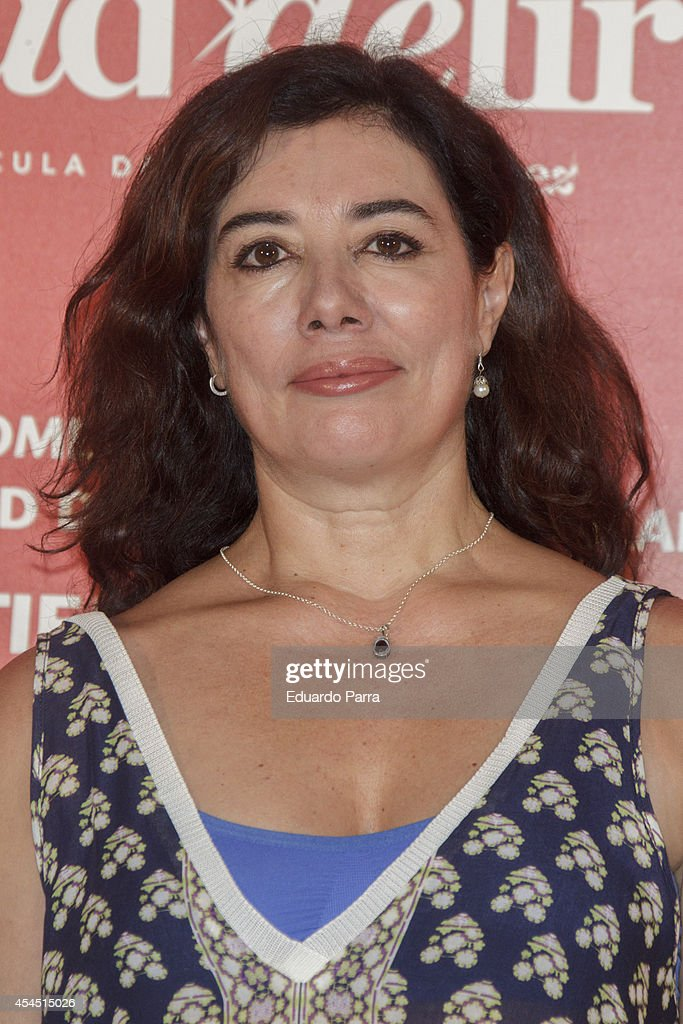 <a gi-track='captionPersonalityLinkClicked' href=/galleries/search?phrase=Chus+Gutierrez&family=editorial&specificpeople=2155269 ng-click='$event.stopPropagation()'>Chus Gutierrez</a> attends 'Ciudad Delirio' premiere photocall at Academia del cine on September 2, 2014 in Madrid, Spain.
