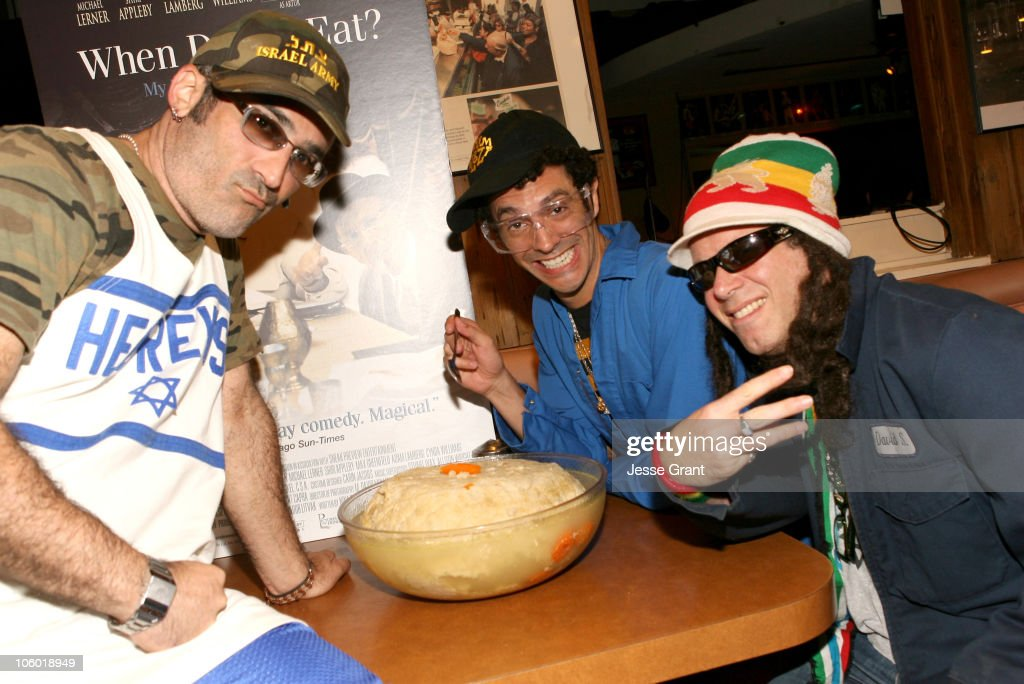 Chutzpah during The World's Largest Matzo Ball at the DVD Launch of 'When Do We Eat' at Canters Delicatessen in Los Angeles CA United States