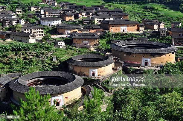 Chuxi Tulou cluster in Fujian