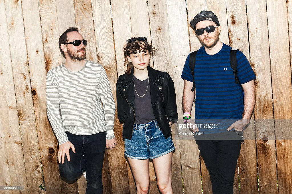 Chvrches is photographed for Spin Magazine on March 16, 2013.