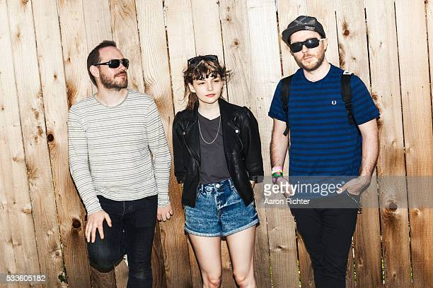 Chvrches is photographed for Spin Magazine on March 16 2013