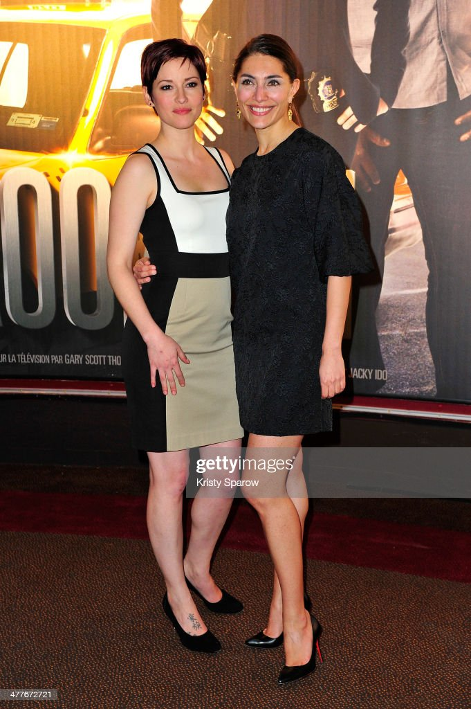 <a gi-track='captionPersonalityLinkClicked' href=/galleries/search?phrase=Chyler+Leigh&family=editorial&specificpeople=2285867 ng-click='$event.stopPropagation()'>Chyler Leigh</a> and <a gi-track='captionPersonalityLinkClicked' href=/galleries/search?phrase=Caterina+Murino&family=editorial&specificpeople=619334 ng-click='$event.stopPropagation()'>Caterina Murino</a> attend the 'Taxi Brooklyn' Paris premiere at Cinema Gaumont Marignan on March 10, 2014 in Paris, France.