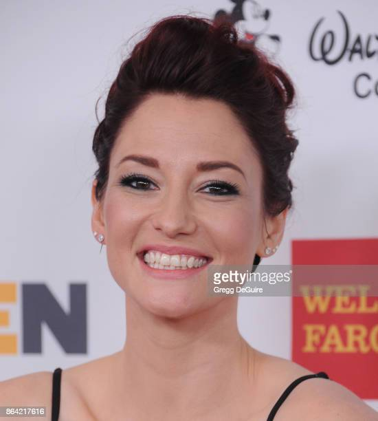 Chyler Leigh arrives at the 2017 GLSEN Respect Awards at the Beverly Wilshire Four Seasons Hotel on October 20 2017 in Beverly Hills California