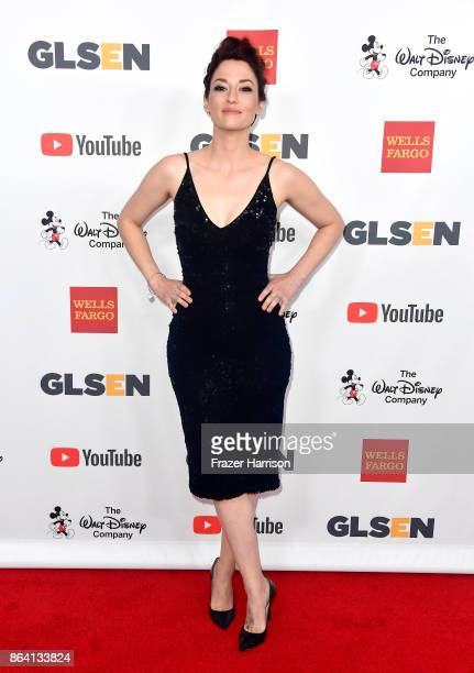 Chyler Leigh at the 2017 GLSEN Respect Awards at the Beverly Wilshire Four Seasons Hotel on October 20 2017 in Beverly Hills California
