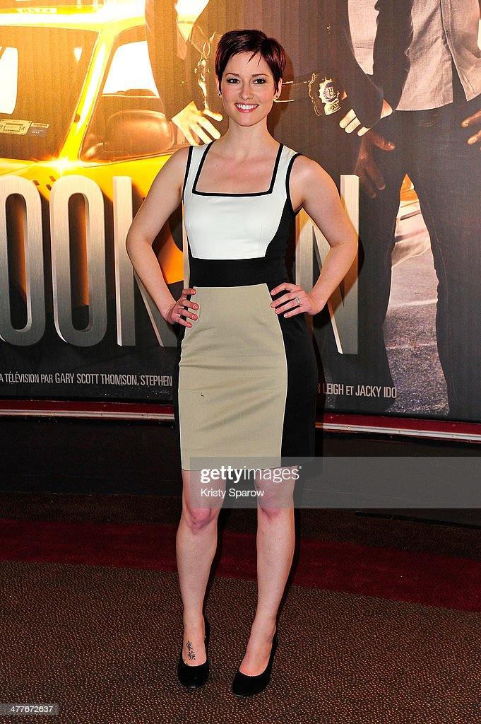 <a gi-track='captionPersonalityLinkClicked' href=/galleries/search?phrase=Chyler+Leigh&family=editorial&specificpeople=2285867 ng-click='$event.stopPropagation()'>Chyler Leigh</a> attends the 'Taxi Brooklyn' Paris premiere at Cinema Gaumont Marignan on March 10, 2014 in Paris, France.