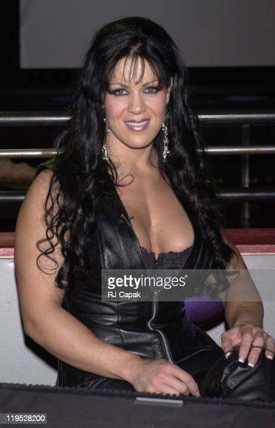 Chyna during Chyna singing for November 2000 Playboy cover in New York City New York United States
