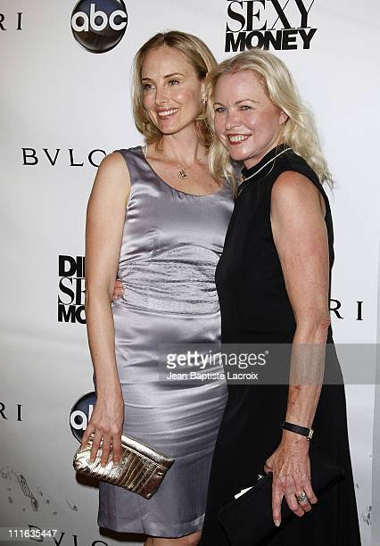 Chynna Phillips and mother Michelle Phillips attend the 'Dirty Sexy Money' Premiere held at the Paramount Theater on September 23 2007 in Hollywood...