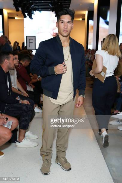 Chyno Miranda attends the Todd Snyder fashion show during NYFW Men's July 2017 at Cadillac House on July 10 2017 in New York City