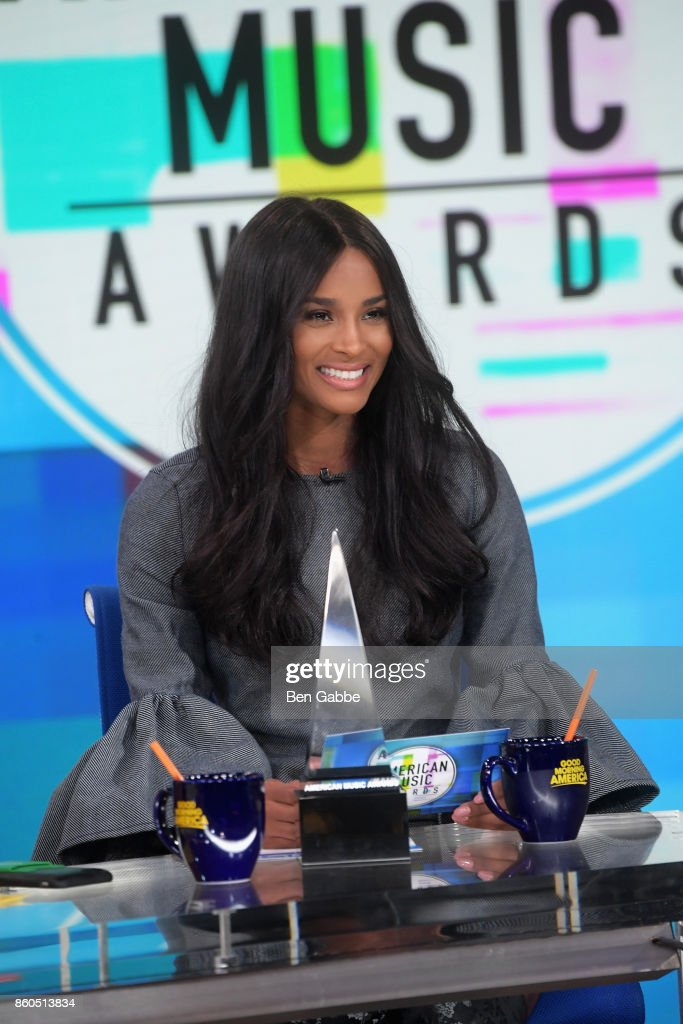 Ciara announces the 2017 American Music Awards nominations at Good Morning America Studios on October 12, 2017 in New York City.