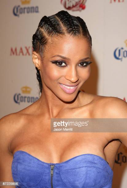 Ciara arrives at Maxim's 10th Annual Hot 100 Celebration Presented by Dr Pepper Cherry True Religion Brand Jeans Stolichnaya Vodka and Corona held at...