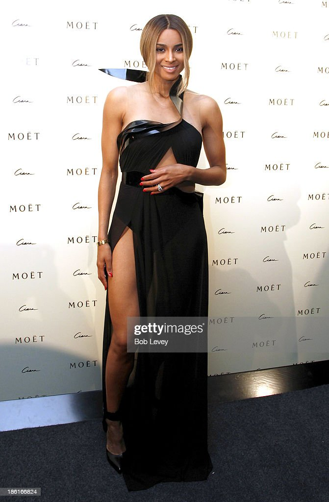 Ciara arrives at The Hotel Derek for Moet Rose Lounge Houston Hosted By Ciara on October 28, 2013 in Houston, Texas.