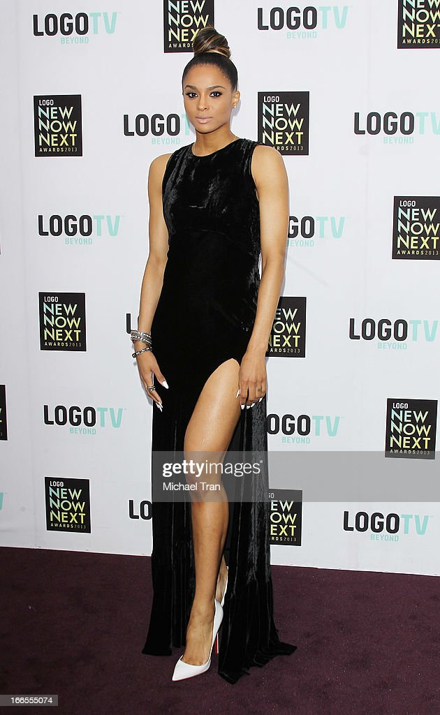 Ciara arrives at the Logo NewNowNext Awards 2013 held at The Fonda Theatre on April 13, 2013 in Los Angeles, California.