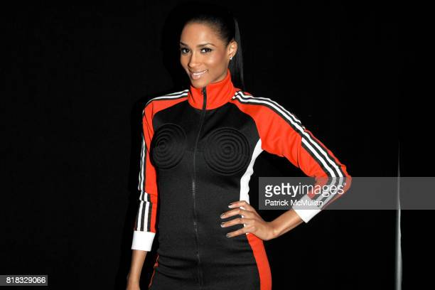 Ciara attends ADIDAS Y3 Fall/Winter 2010 Collection at Park Avenue Armory on February 14 2010 in New York City