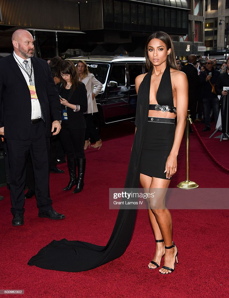 Ciara attends Billboard's 10th Annual Women In Music at Cipriani 42nd Street on December 11, 2015 in New York City.