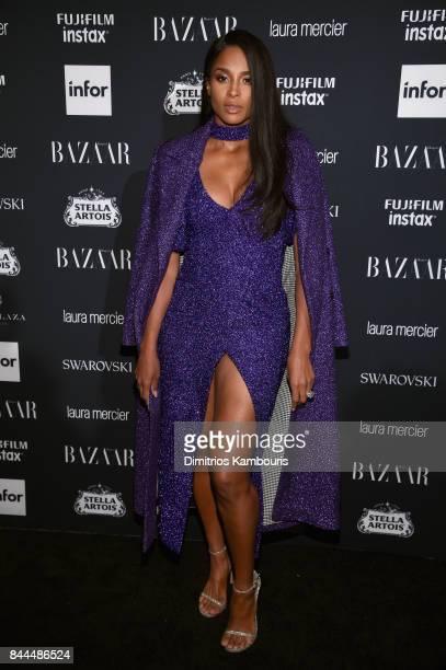Ciara attends Harper's BAZAAR Celebration of 'ICONS By Carine Roitfeld' at The Plaza Hotel presented by Infor Laura Mercier Stella Artois FUJIFILM...