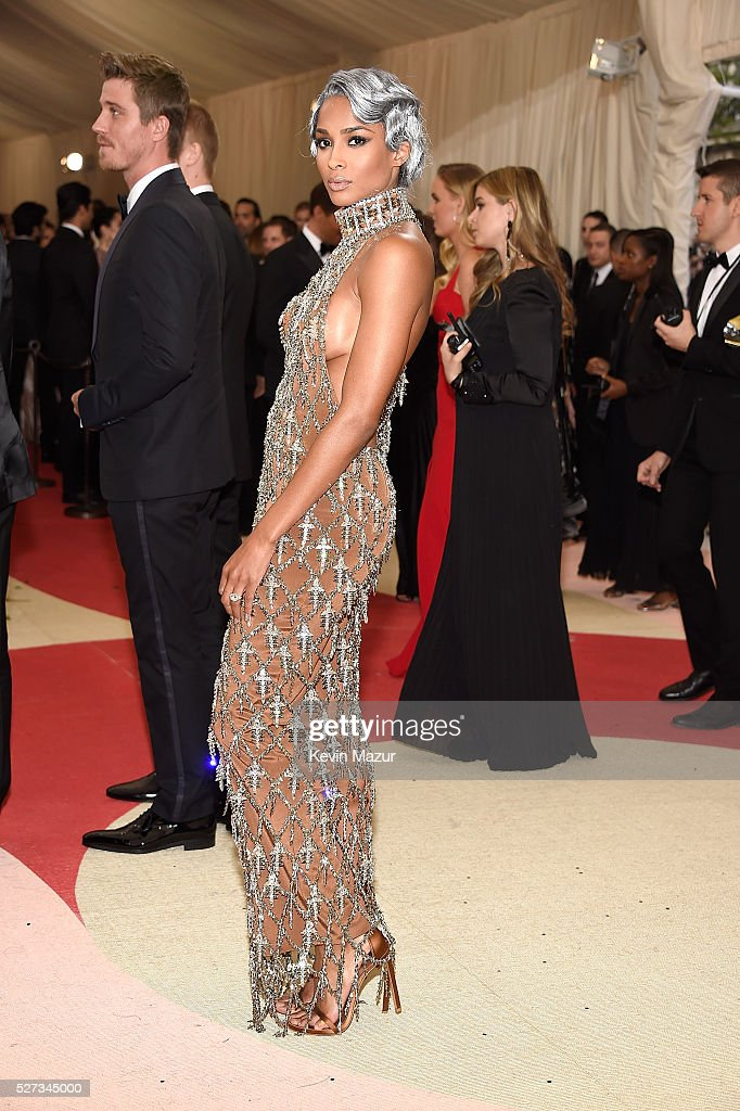 Ciara attends 'Manus x Machina: Fashion In An Age Of Technology' Costume Institute Gala at Metropolitan Museum of Art on May 2, 2016 in New York City.