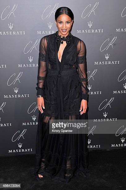 Ciara attends the CR Fashion Book Issue No5 Launch Party Hosted by Carine Roitfeld and Stephen Gan at The Peninsula Paris on September 30 2014 in...