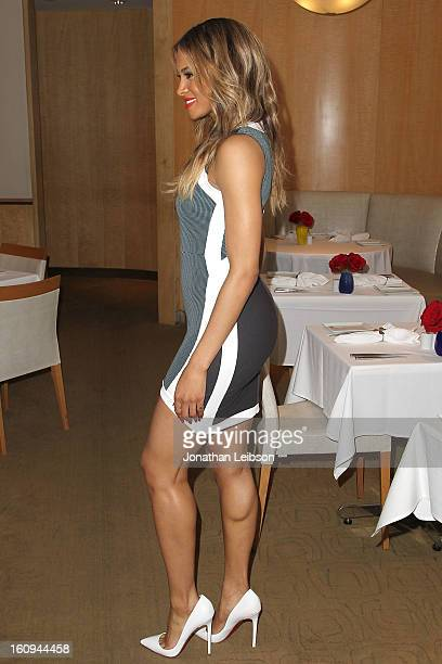 Ciara attends the Epic Records Event Honoring Ciara Sponsored By Le Metier De Beaute at Neiman Marcus on February 7 2013 in Beverly Hills California