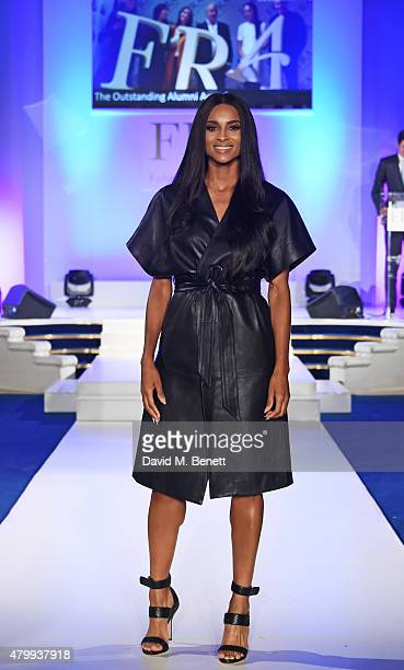 Ciara attends the Fashion Retail Academy 10th Anniversary Awards at Freemasons' Hall on July 8 2015 in London England