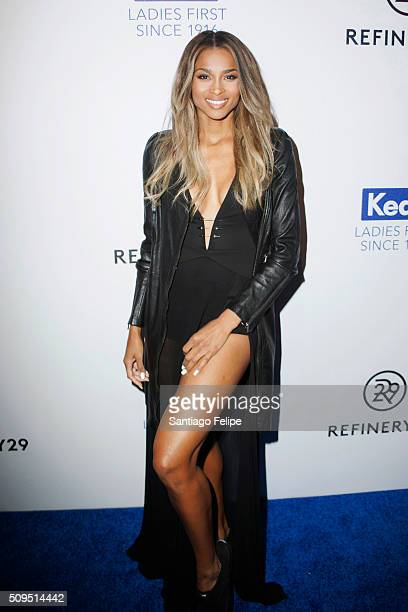 Ciara attends the Keds Centennial Celebration at Center548 on February 10 2016 in New York City
