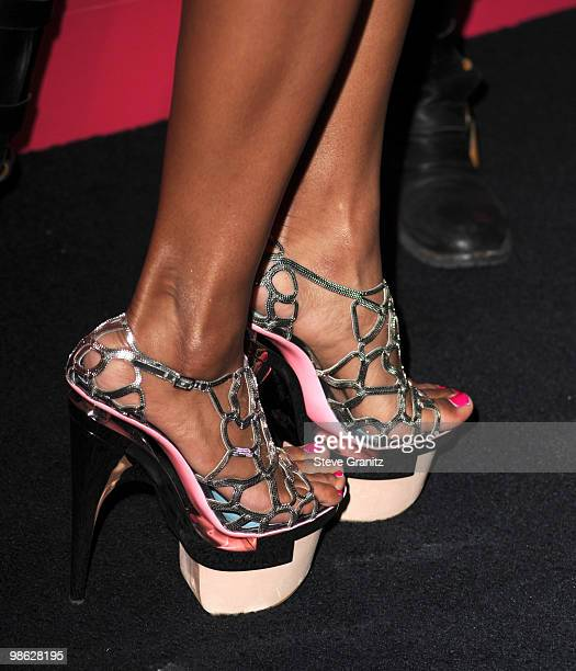 Ciara attends the Us Weekly Hot Hollywood Style Issue Event at Drai's Hollywood on April 22 2010 in Hollywood California